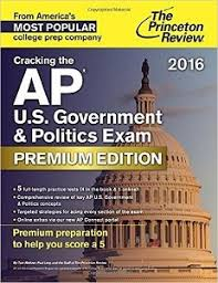 U S  Government   Politics ESSAYS AP PREP  FOUR Free Response