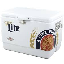 miller lite cooler quart beer coolers miller lite golf bag cooler