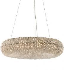 lighting elegant crystal ring chandelier 13 45292 10 ring 54 light crystal chandelier