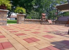 rubber pavers lasting and cost effective outdoor pavers rubber patio pavers exterior design ideas