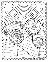 Candy Coloring Pages To Print Cane Exciting Grig3 For Lollipop