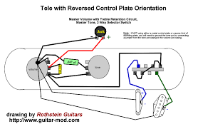 rothstein guitars bull serious tone for the serious player reverse tele wiring