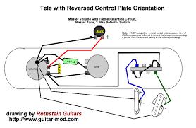 reverse tele wiring