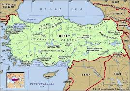 turkey physical features. Perfect Features Turkey Physical Features Map Includes Locator In Turkey Features Encyclopedia Britannica