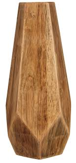 Jump on board with the natural movement by accessorizing your home with the  corin wooden vase