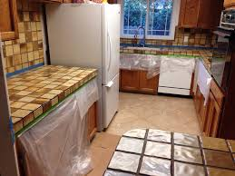 Cement Over Tile Countertops Part 3 Kitchen Make Overencore Countertops Tips And Helpful