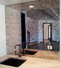 antique glass mirror kitchen splash back distressed mirror modern interior design glass mirror splashback