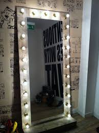 Full Size Mirror With Lights Mirror With Lights Will Be Making One Of These For My