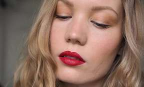 achieve the perfect red lip makeup