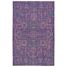 kaleen relic purple indoor handcrafted southwestern area rug common 9 x 12 actual