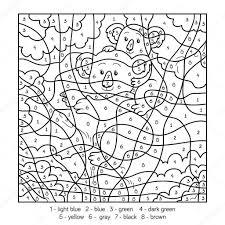 25 Idee Kleuren Op Nummer Dieren Kleurplaat Mandala Kleurplaat