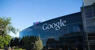 google office in usa. Fine Usa Mountain View USA  August 28 2015 Big Google Logotype On The Glass And Google Office In Usa