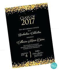 Graduation Invitations Simple Homemade Announcement Idea Diy