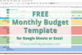 Free Simple Budget Worksheet The Best Worksheets Image Collection ...