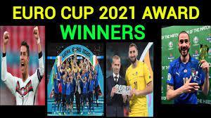 Euro Cup 2021 Award winners list ...