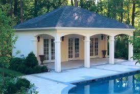 yard small pool house floor plans