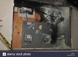 fuse box household stock photos fuse box household stock images a fire broke out in a household electrical fuse box flames consumed the board the