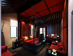 Luxurius Asian Themed Bedroom Hd9c14