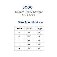 Gildan Heavy Cotton Adult T Shirt 5000
