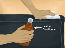 how to remove a urine stain from a leather couch