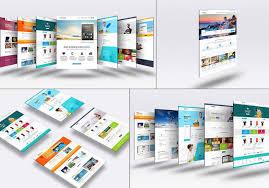 Business Portfolio Template Tmshuvo I Will Design Business Portfolio Landing Page Web Template For 25 On Www Fiverr Com