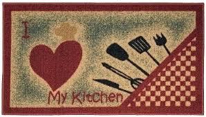 non slip kitchen rugs uk i love my utensils rug skid mat rubber back x 0