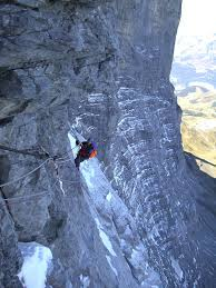 I watched storms roll in from nowhere and broil up in its huge concave face, i went for a walk underneath it and found a bit of climbing shrapnel and got lost in a world of fantasies as to the origin and its eventual demise coming tumbling. 1936 Eiger North Face Climbing Disaster Wikipedia