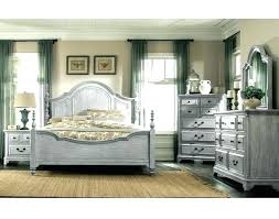 White Wood Bedroom Furniture Distressed Weathered Charcoal Gray Pine Wax Look Sets Driftwood