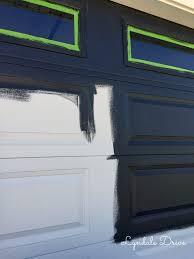 painting garage doorGarage Doors  Paint Garage Door Trim Doors Wood Faux To Look Like