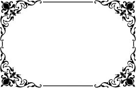 decorative ornamental frame border 2