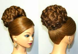 Wedding Hair Style Up Do elegant updo bridal hairstyle for long hair tutorial youtube 1468 by wearticles.com