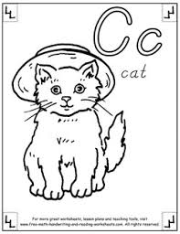 It doesn't matter if they can't yet read it, they can still color in the shapes and gradually familiarize themselves with the letters and words, this helps. Alphabet Coloring Pages Letters Pictures Words