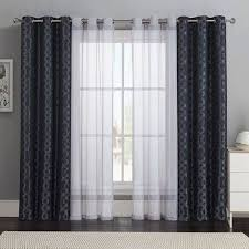 home curtain design. beautiful curtains design. bold patterns and sheer solids for the living room windows. home curtain design