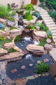 ponds backyard waterfalls backyard