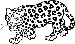 Small Picture Printable Coloring Leopard Coloring Coloring Pages
