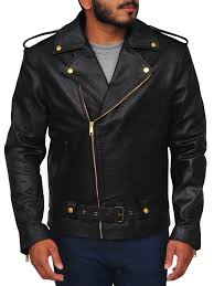 cry baby johnny depp leather jacket black mens jacket
