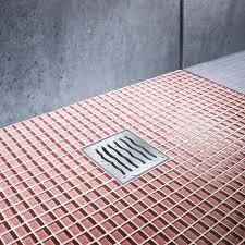 shower and bath drains modular system