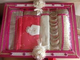 Saree Tray Decoration Fancy Wedding Saree Tray Saree Pack Karne Ki Tray Venkatesh 41