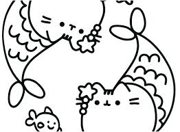 Cat Coloring Pages Pic Book The Free Pictures Pusheen Cute