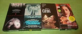 4 Horror VHS Lot Midnight Crossing Lethal Lolita Blair Witch Project &  Claudia | eBay