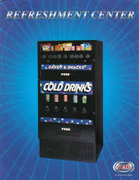 Compact Combination Vending Machine Custom Combo Vending Machines Compact Vending Machines Snack Soda Combos