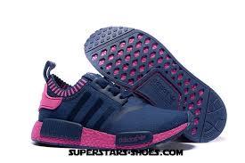 adidas shoes nmd blue. adidas originals nmd runner primeknit women running shoes blue pink ( neo price)