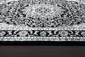 black and white carpet design black and white modern rug gray black white 7 2 area