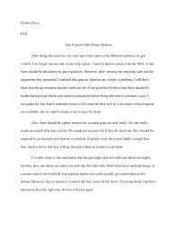 pro gun control essay introduction gun control essay