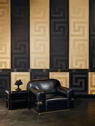 Greek Key Border by Versace - Gold ...