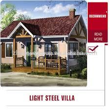 economic villa modular house light steel frame house