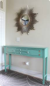 furniture projects table spray painted