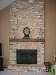 Mantel On Brick Fireplace Decorationfireplace Designs With Brick Brick Fireplace With Wood
