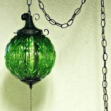 green glass pendant lights vintage hanging light lamp globe75