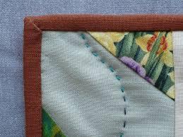Quilt Binding - Lynn Carson Harris & Binding_corner Adamdwight.com